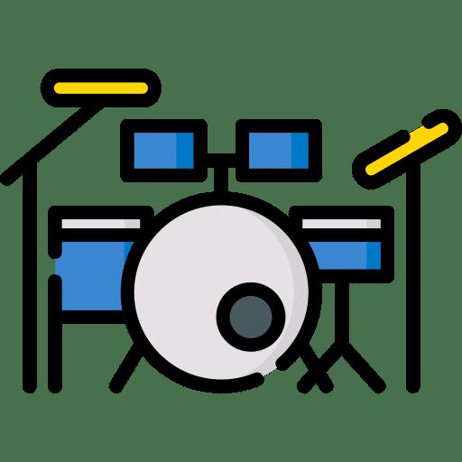 Music Mayor: Music Lessons drum set 1