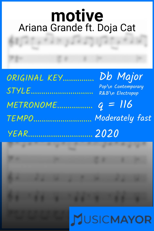 motive Sheet Music