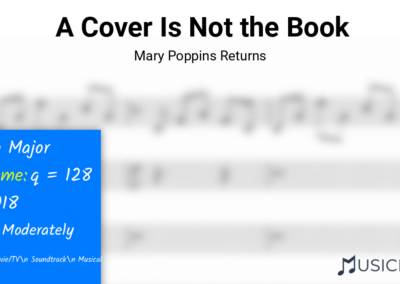 A Cover Is Not the Book | Mary Poppins Returns