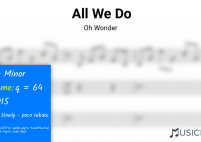 All We Do | Oh Wonder