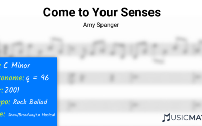 Come to Your Senses | Amy Spanger
