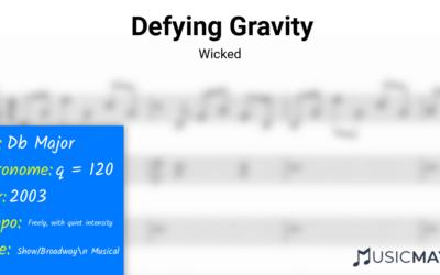 Defying Gravity   Wicked