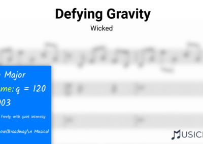 Defying Gravity | Wicked