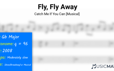 Fly, Fly Away | Catch Me If You Can [Musical]