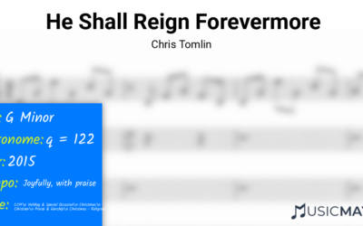 He Shall Reign Forevermore | Chris Tomlin