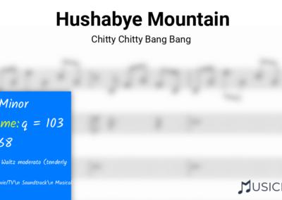 Hushabye Mountain | Chitty Chitty Bang Bang