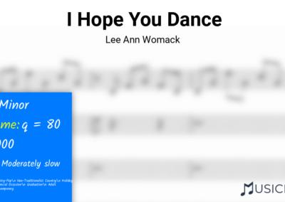 I Hope You Dance | Lee Ann Womack