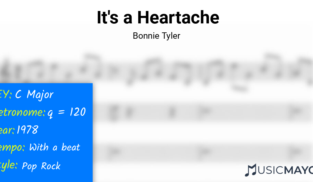 It's a Heartache-Bonnie Tyler-learn-to-play