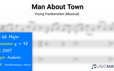 Man About Town | Young Frankenstein (Musical)