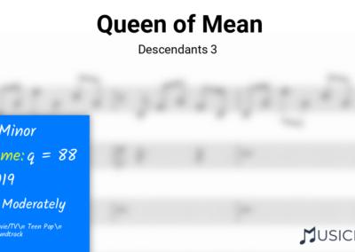 Queen of Mean | Descendants 3