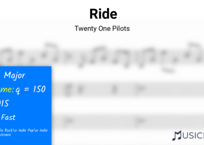 Ride | Twenty One Pilots