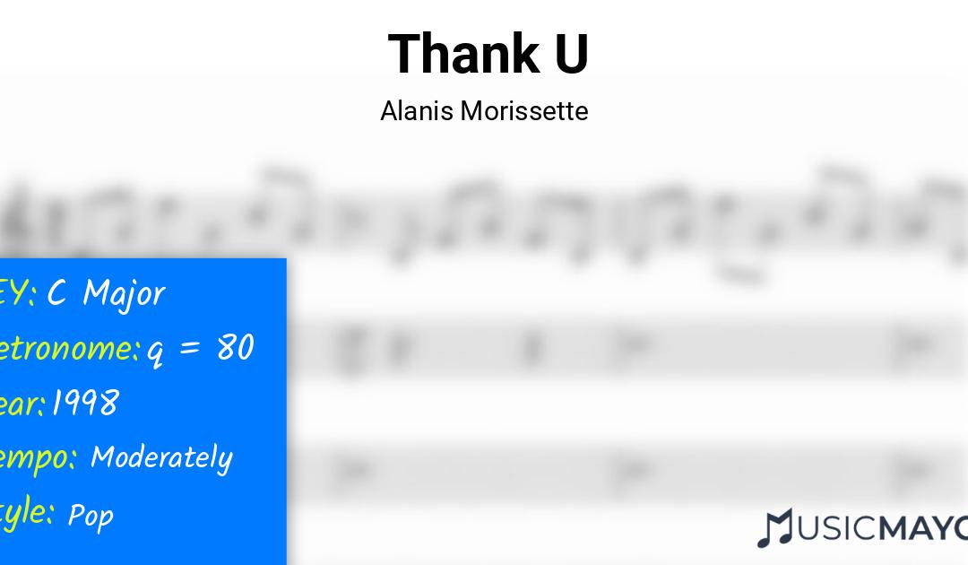 Thank U | Alanis Morissette