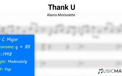 Thank U   Alanis Morissette