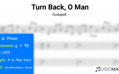 Turn Back, O Man | Godspell