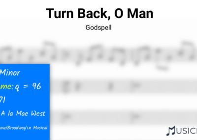 Turn Back, O Man | Godspell