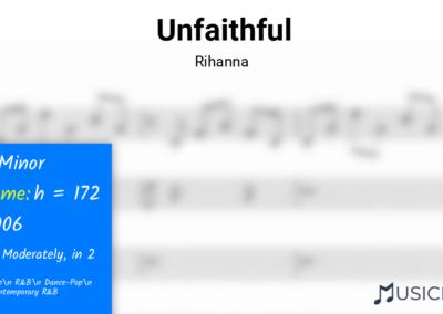 Unfaithful | Rihanna
