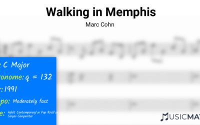Walking in Memphis | Marc Cohn