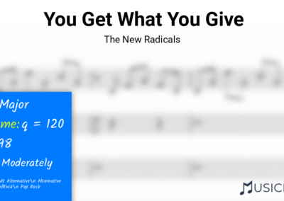 You Get What You Give | The New Radicals