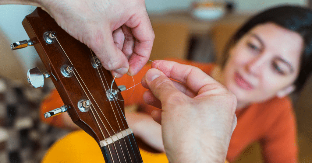 How to replace guitar strings