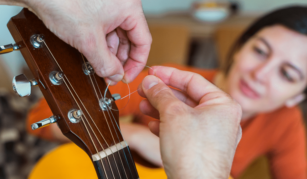 Changing the strings