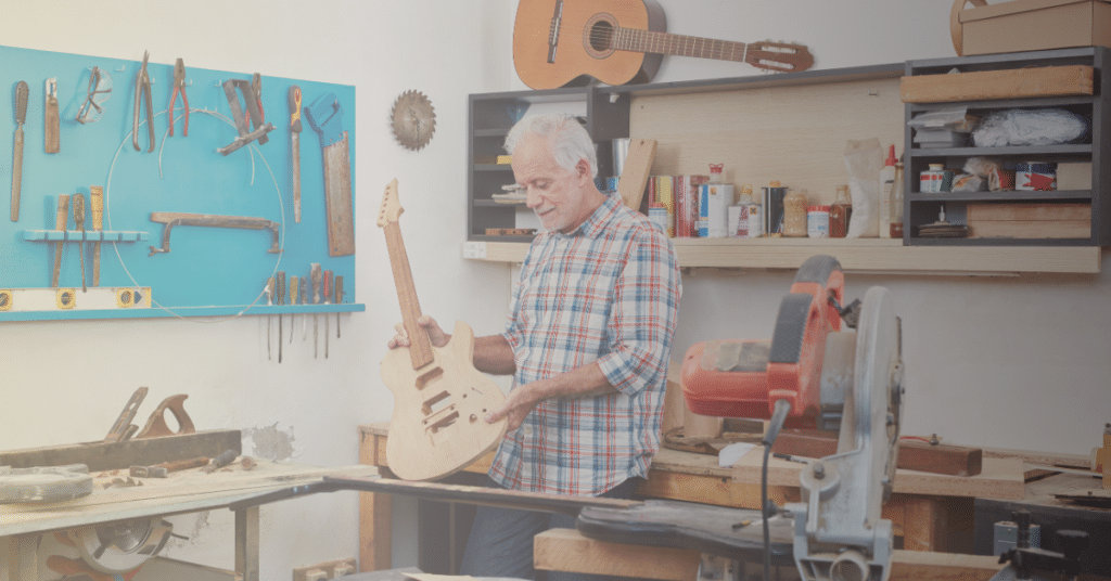 building electric guitar with kit