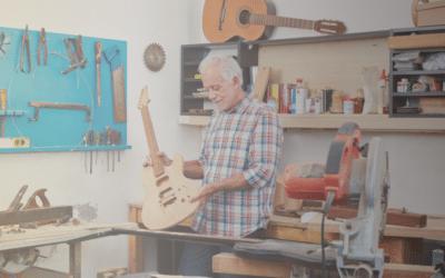 Construyendo una Guitarra Eléctrica con Kits
