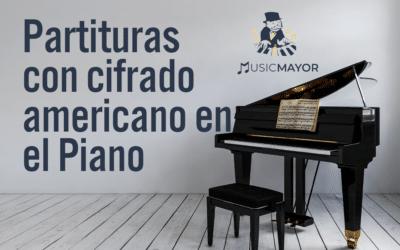 Partituras con cifrado americano en el Piano
