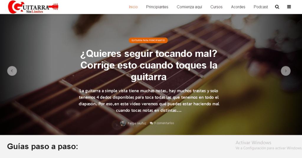 Guitarra sin límites