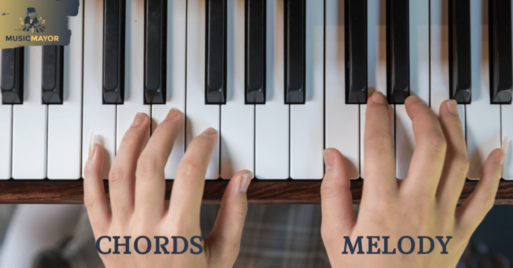 Playing a fake book hand positions