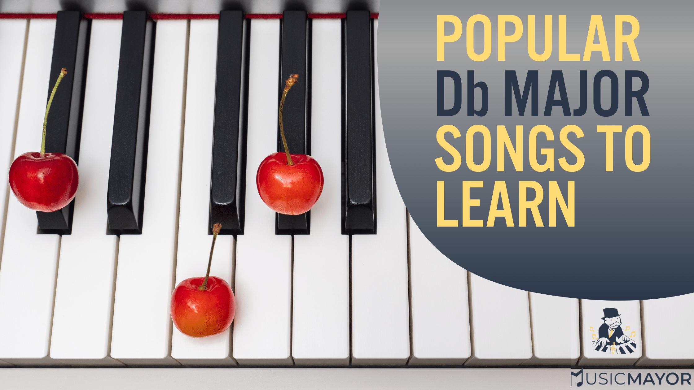 popular db major songs