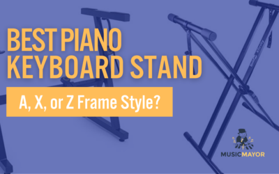 The Best Piano Keyboard Stand: A – X- or Z Frame Style?