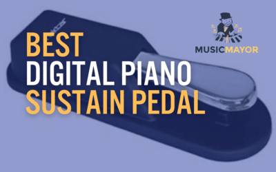 10 Best Sustain Pedals For Your Digital Piano Keyboard